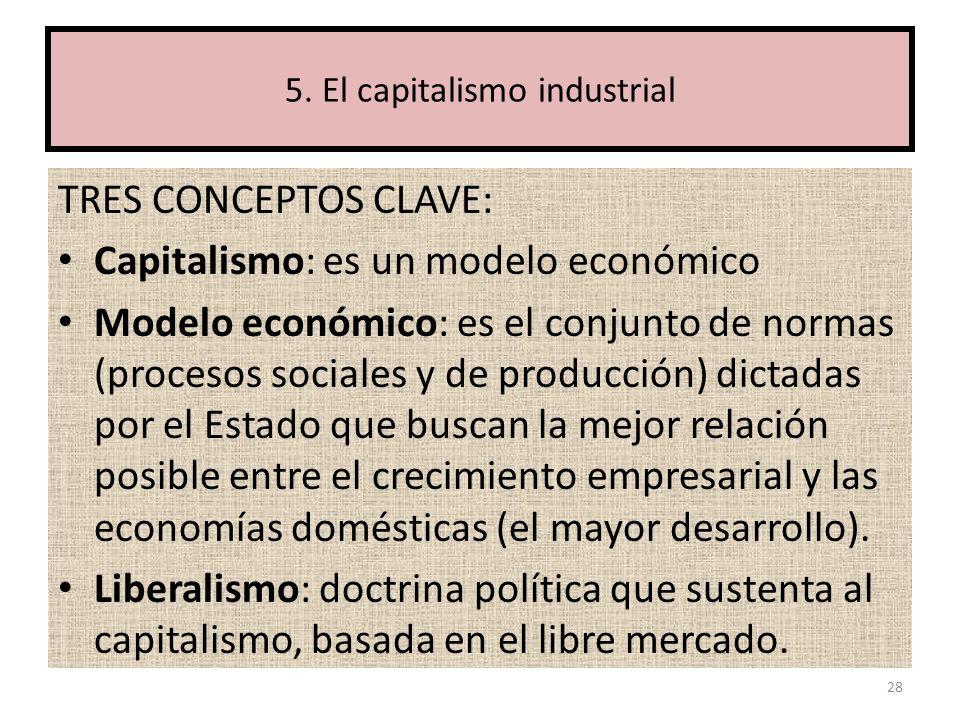 5. El capitalismo industrial
