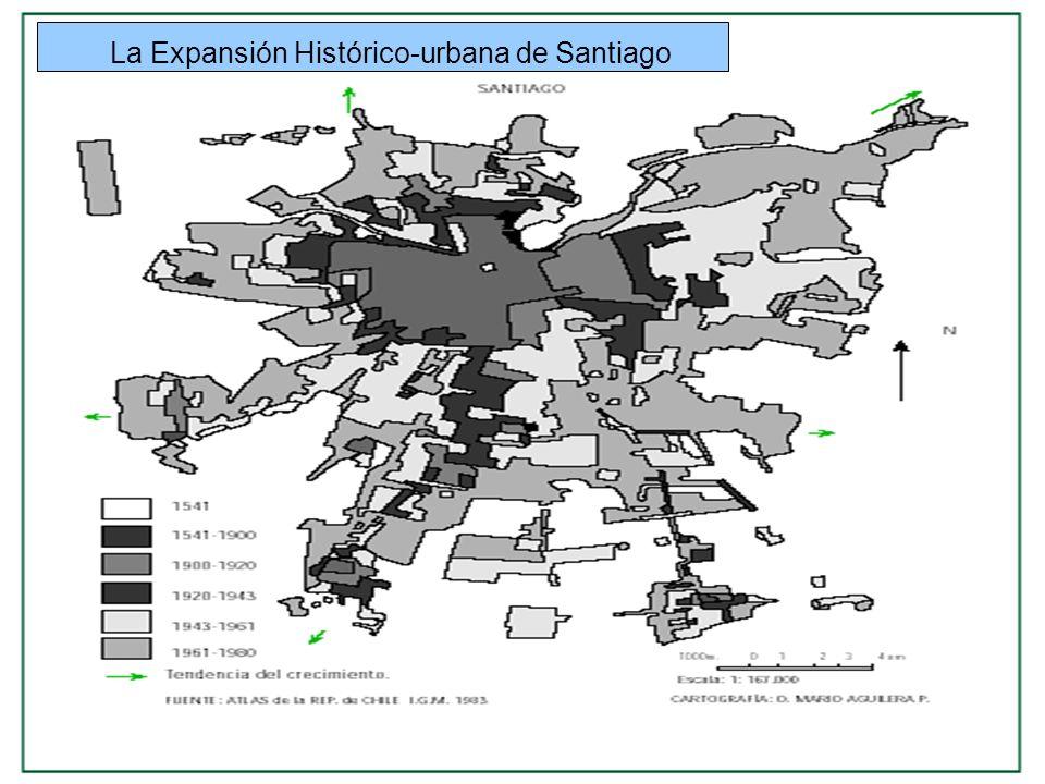 La Expansión Histórico-urbana de Santiago