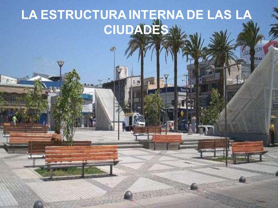 LA ESTRUCTURA INTERNA DE LAS LA CIUDADES