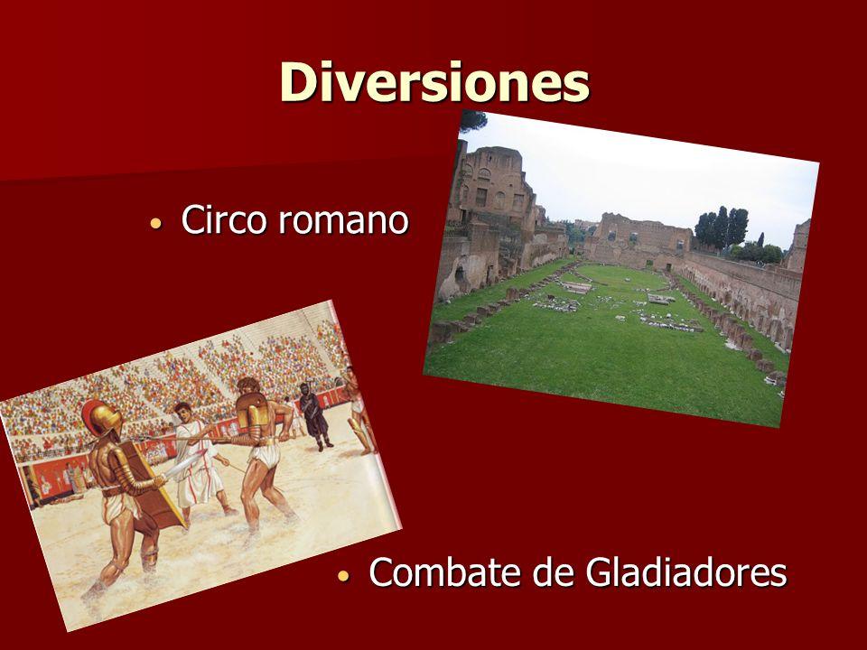 Diversiones Circo romano Combate de Gladiadores