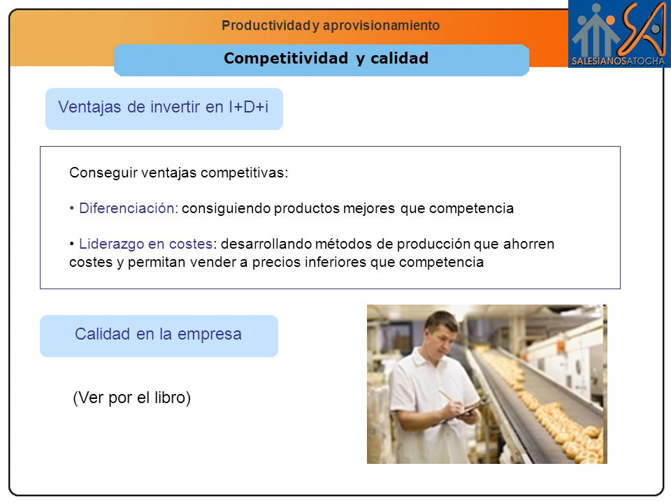 Competitividad y calidad