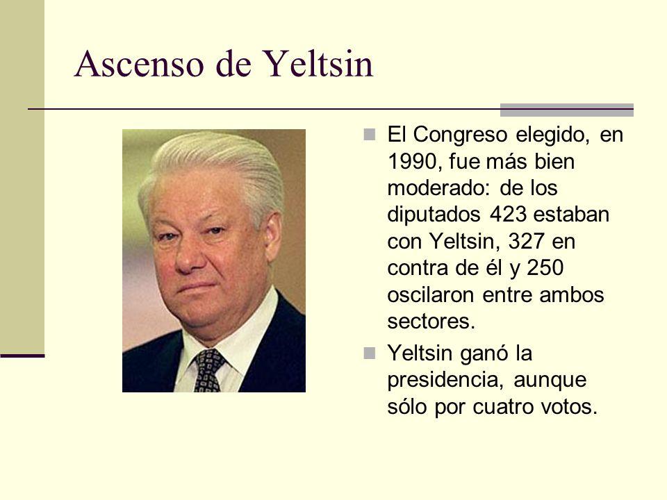 Ascenso de Yeltsin