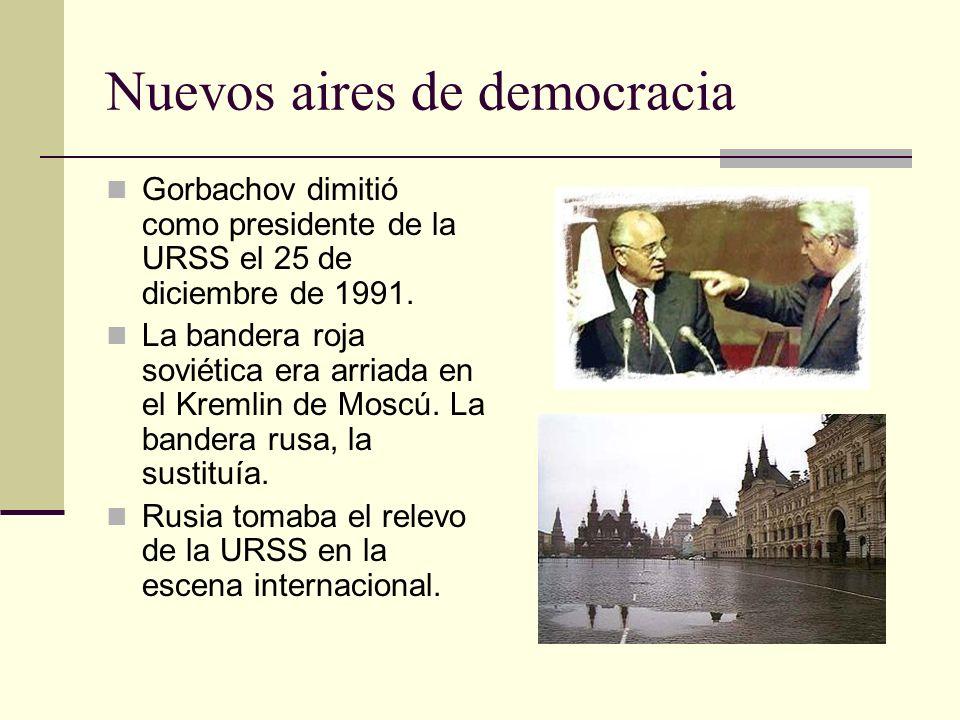 Nuevos aires de democracia