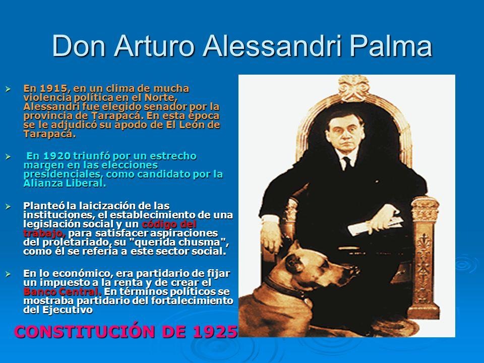 Don Arturo Alessandri Palma