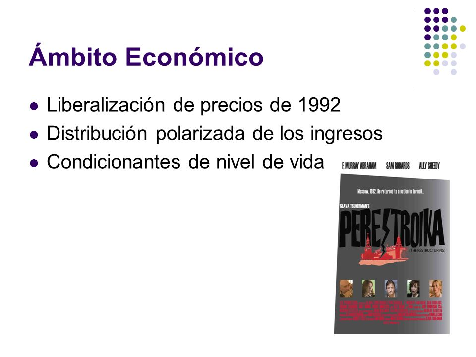 Ámbito Económico Liberalización de precios de 1992