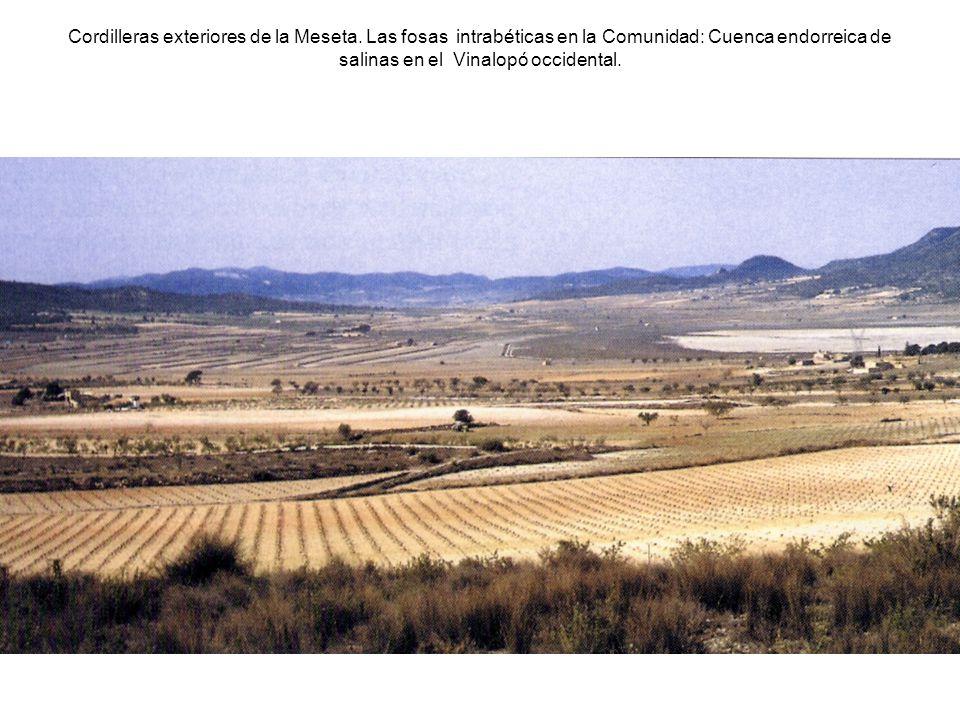 Cordilleras exteriores de la Meseta