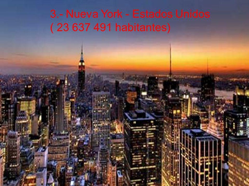 3.- Nueva York - Estados Unidos