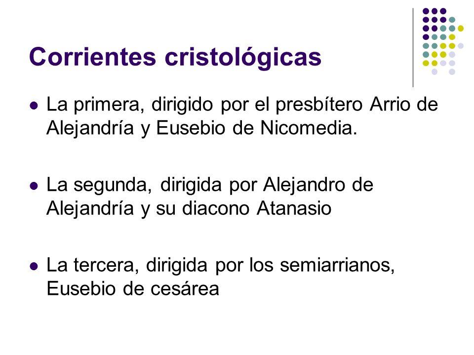Corrientes cristológicas