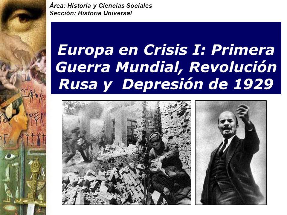 Área: Historia y Ciencias Sociales