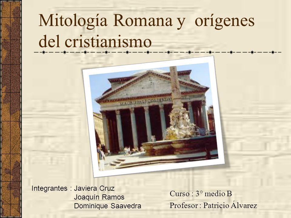 Mitología Romana y orígenes del cristianismo