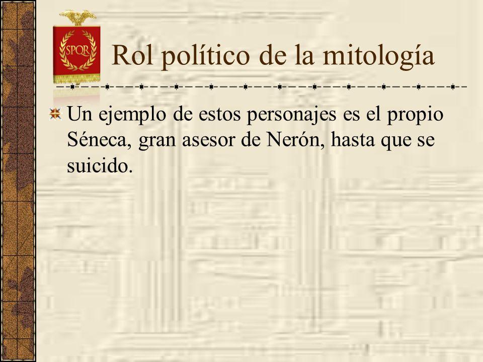 Rol político de la mitología
