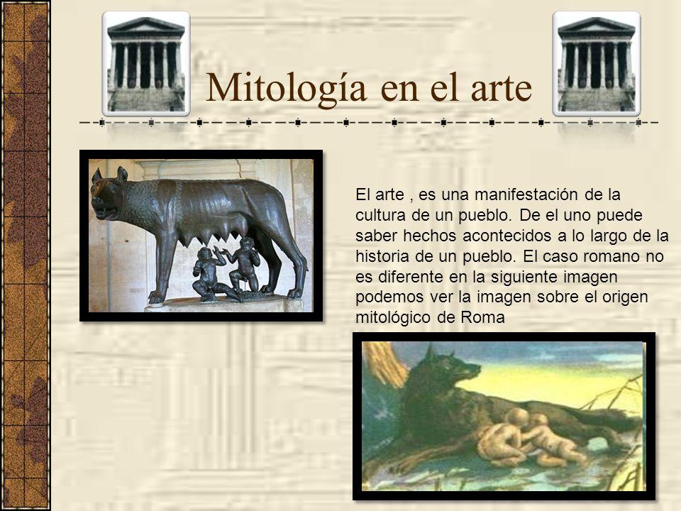 Mitología en el arte