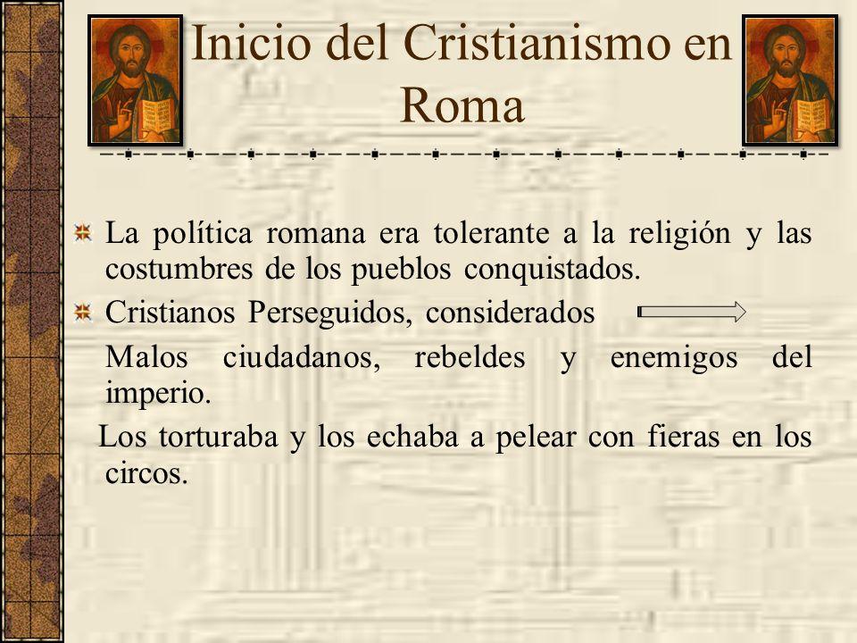 Inicio del Cristianismo en Roma