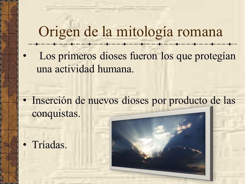 Origen de la mitología romana