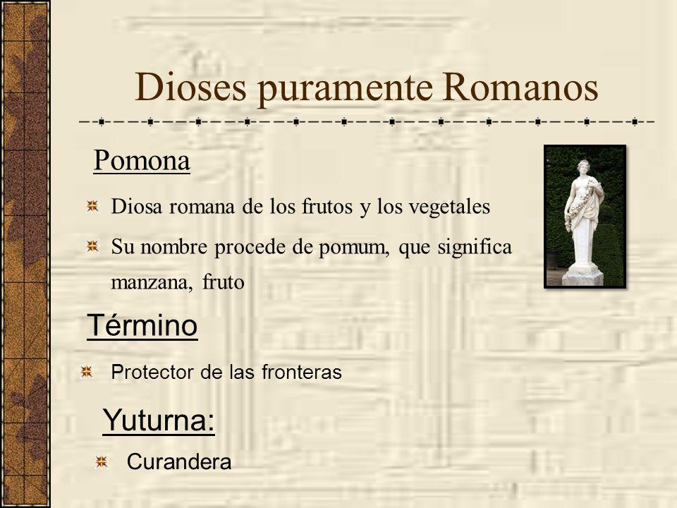 Dioses puramente Romanos