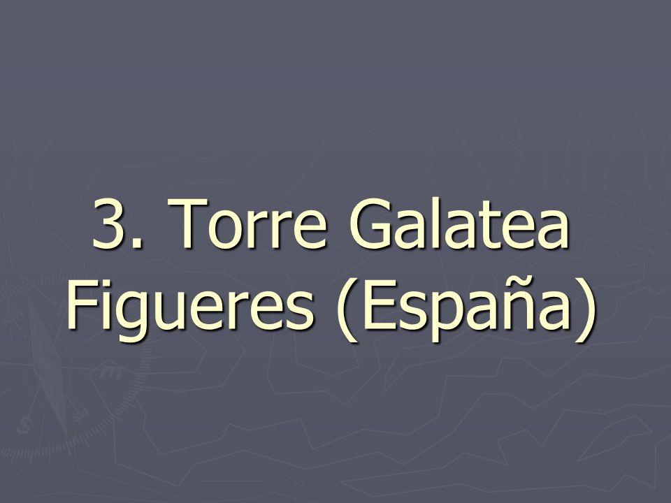 3. Torre Galatea Figueres (España)