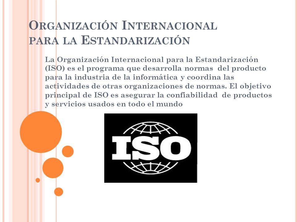Organización Internacional para la Estandarización