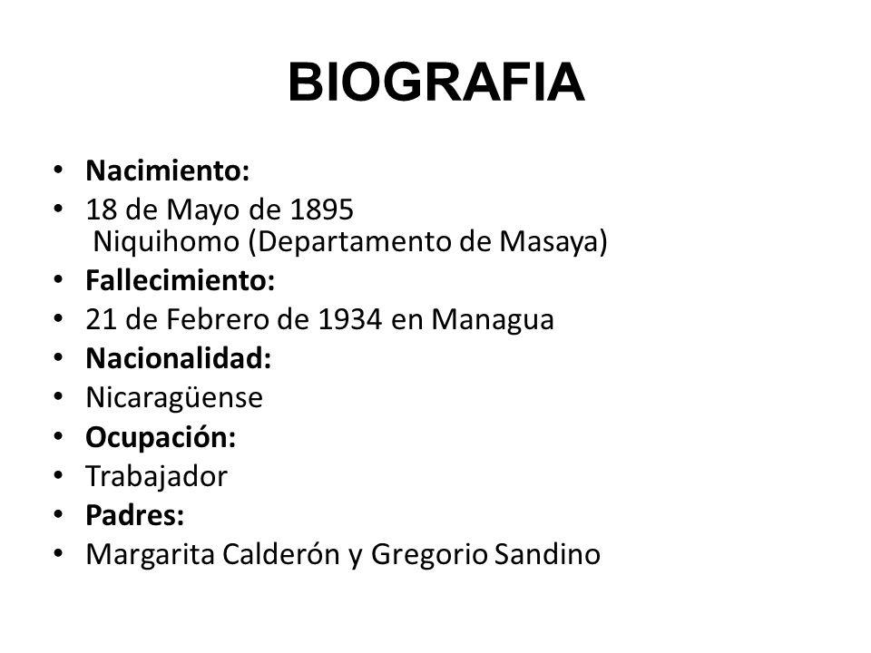 BIOGRAFIA Nacimiento: