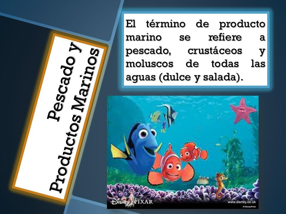 Pescado y Productos Marinos