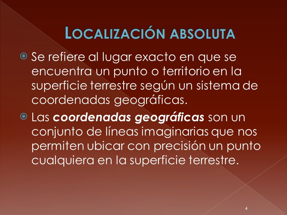 Localización absoluta
