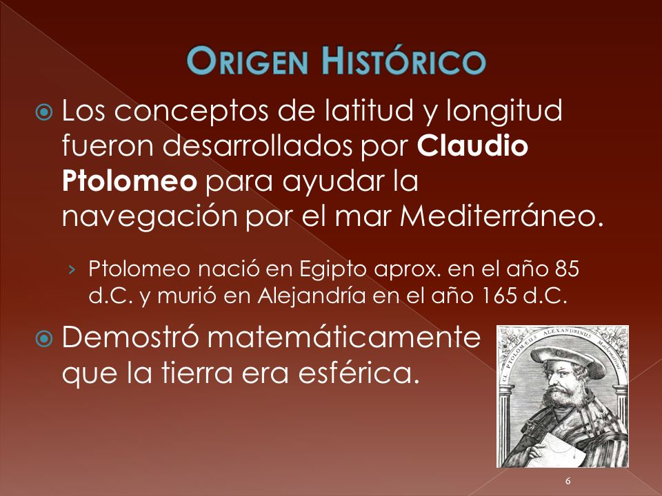 Origen Histórico