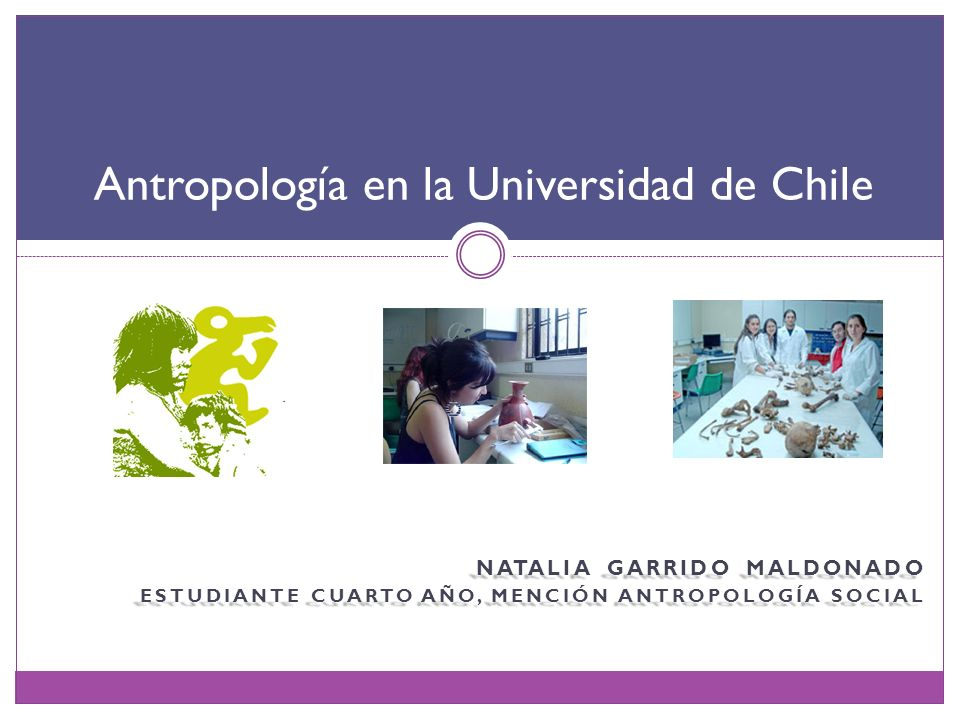 Antropología en la Universidad de Chile
