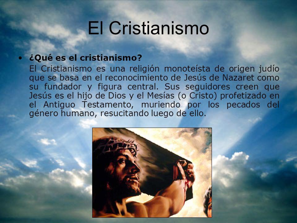El Cristianismo ¿Qué es el cristianismo