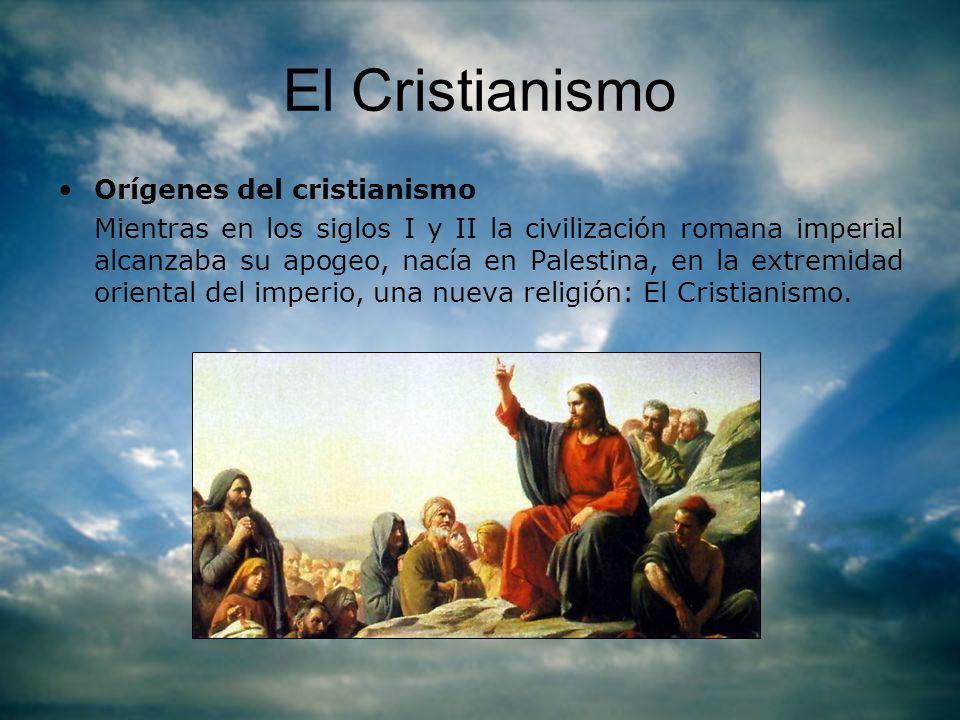 El Cristianismo Orígenes del cristianismo
