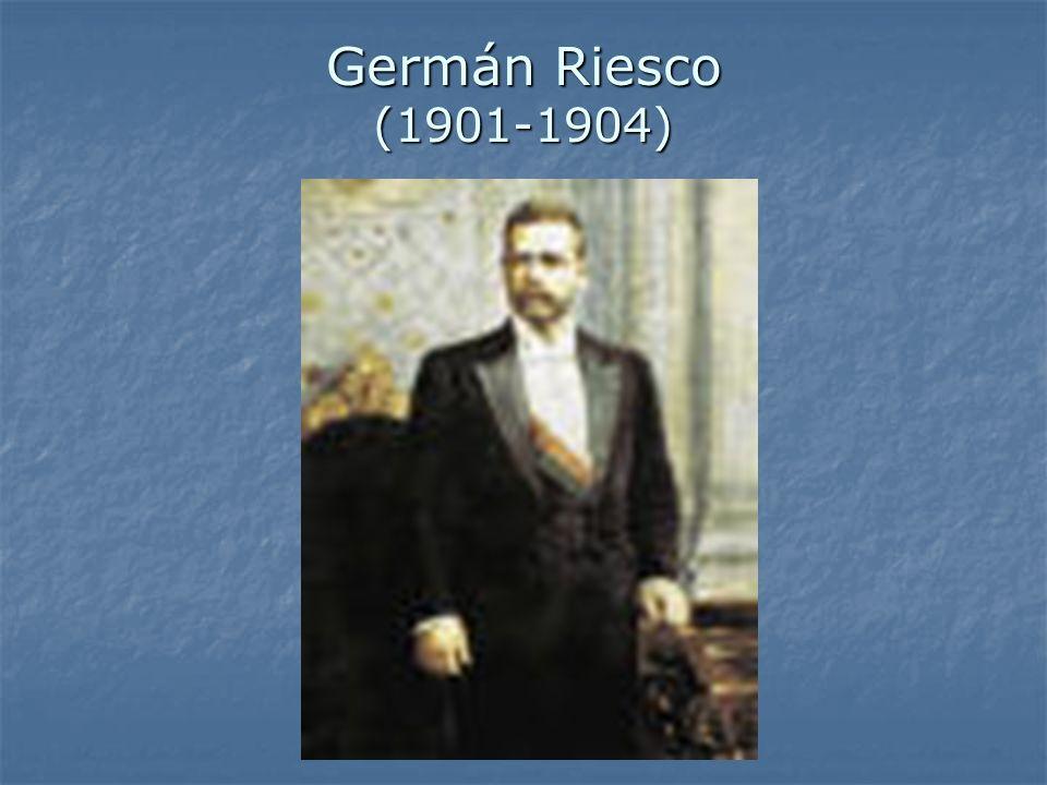 Germán Riesco (1901-1904)