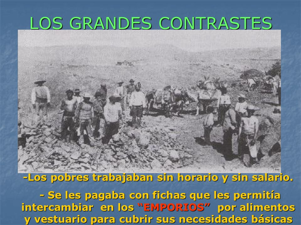 LOS GRANDES CONTRASTES