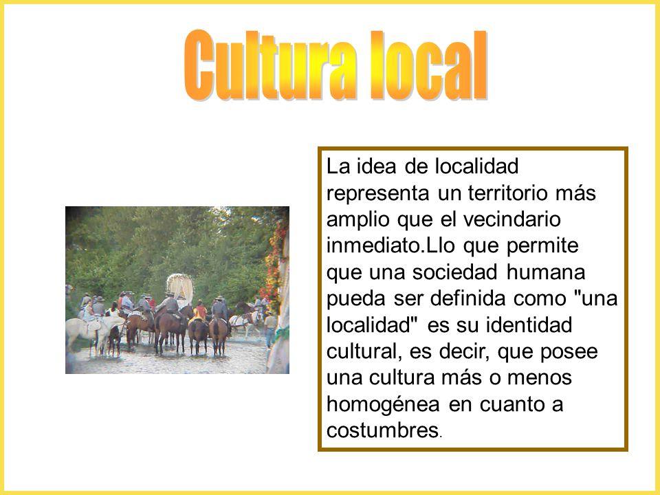 Cultura local