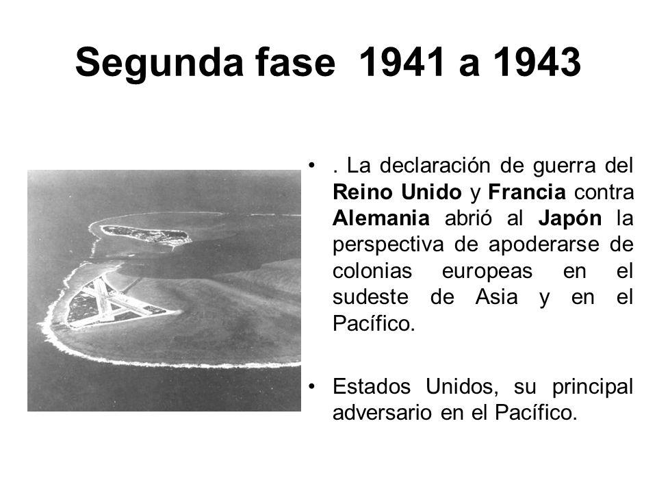 Segunda fase 1941 a 1943