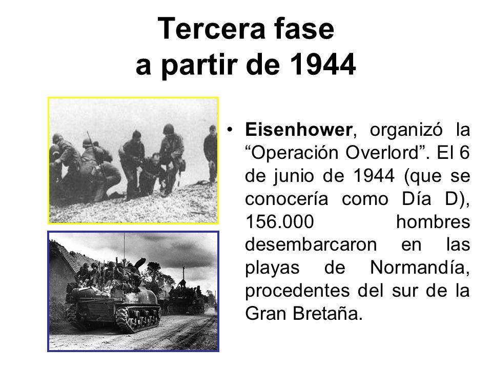 Tercera fase a partir de 1944