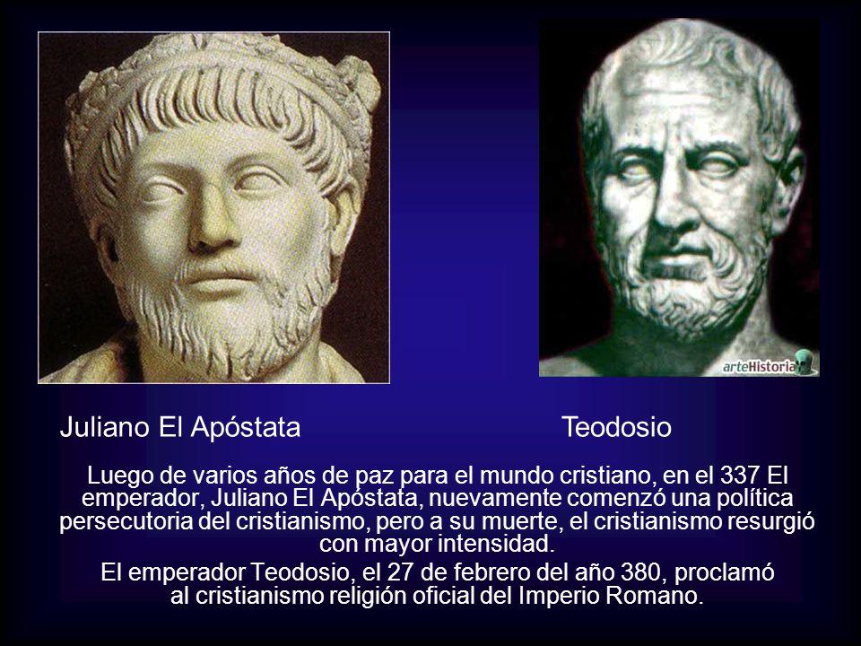 Juliano El Apóstata Teodosio