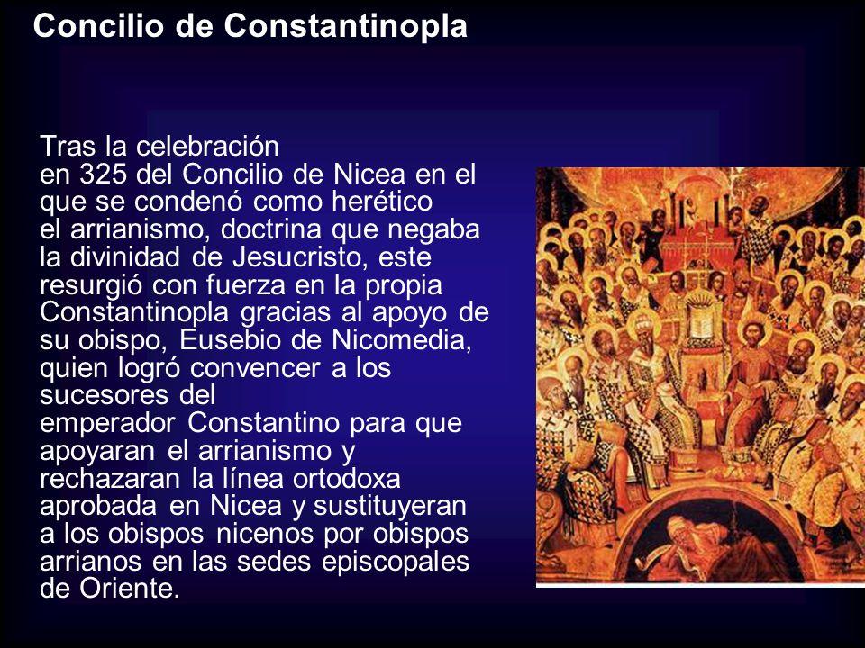 Concilio de Constantinopla