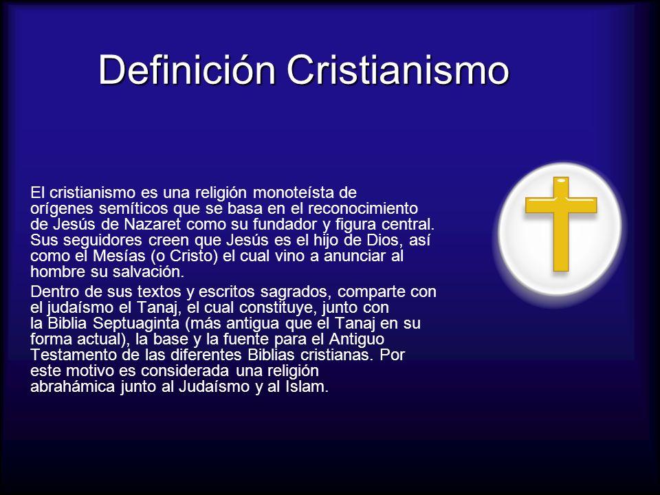 Definición Cristianismo