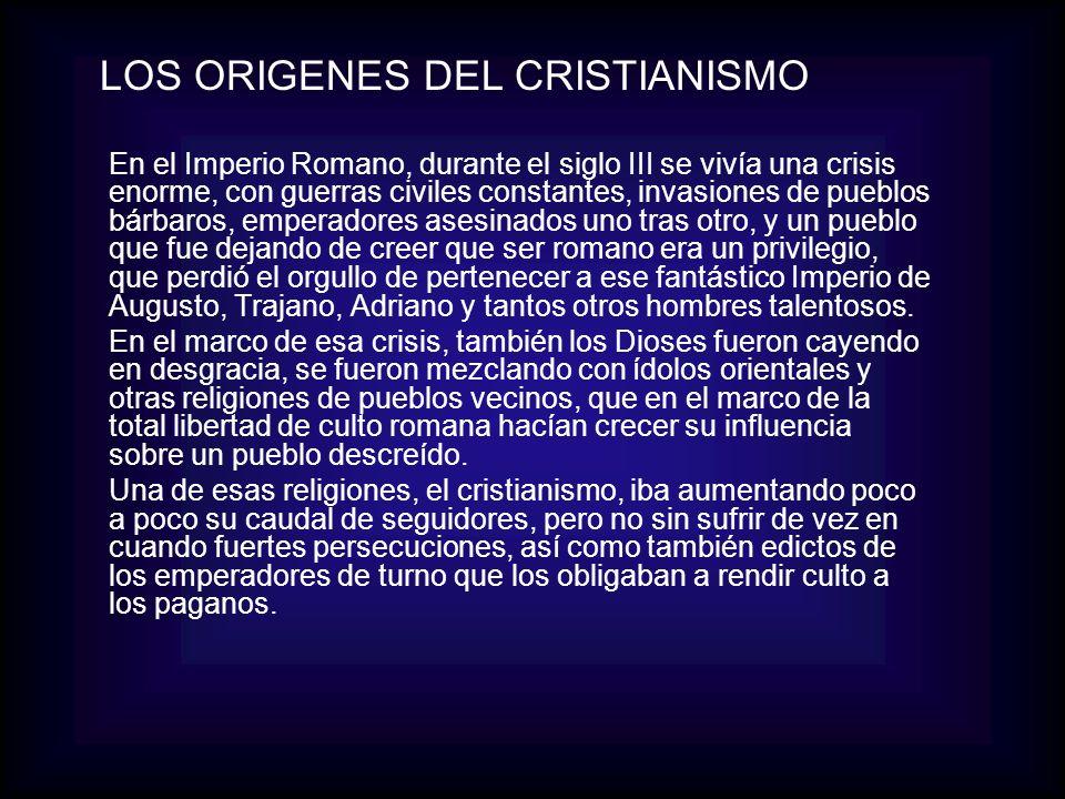 LOS ORIGENES DEL CRISTIANISMO