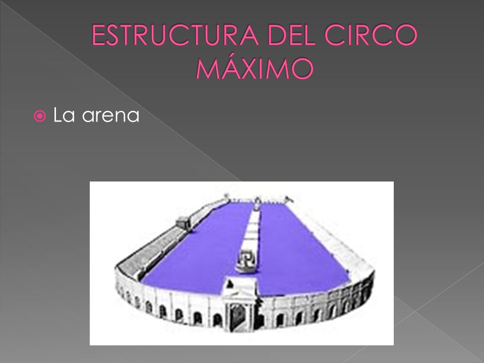 ESTRUCTURA DEL CIRCO MÁXIMO