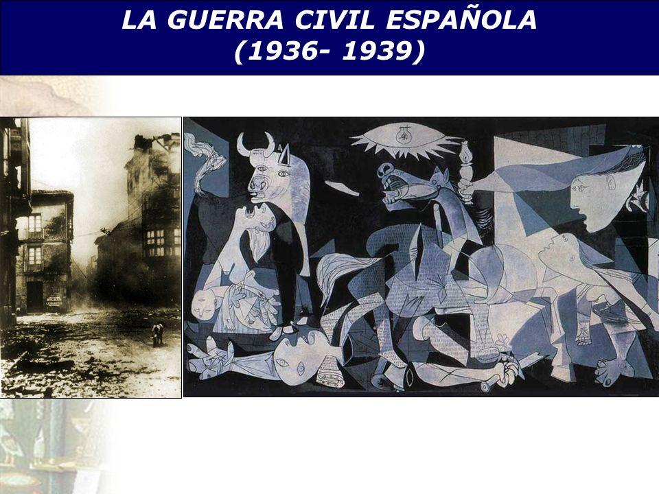 LA GUERRA CIVIL ESPAÑOLA (1936- 1939)