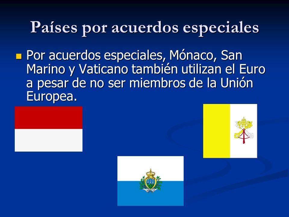 Países por acuerdos especiales