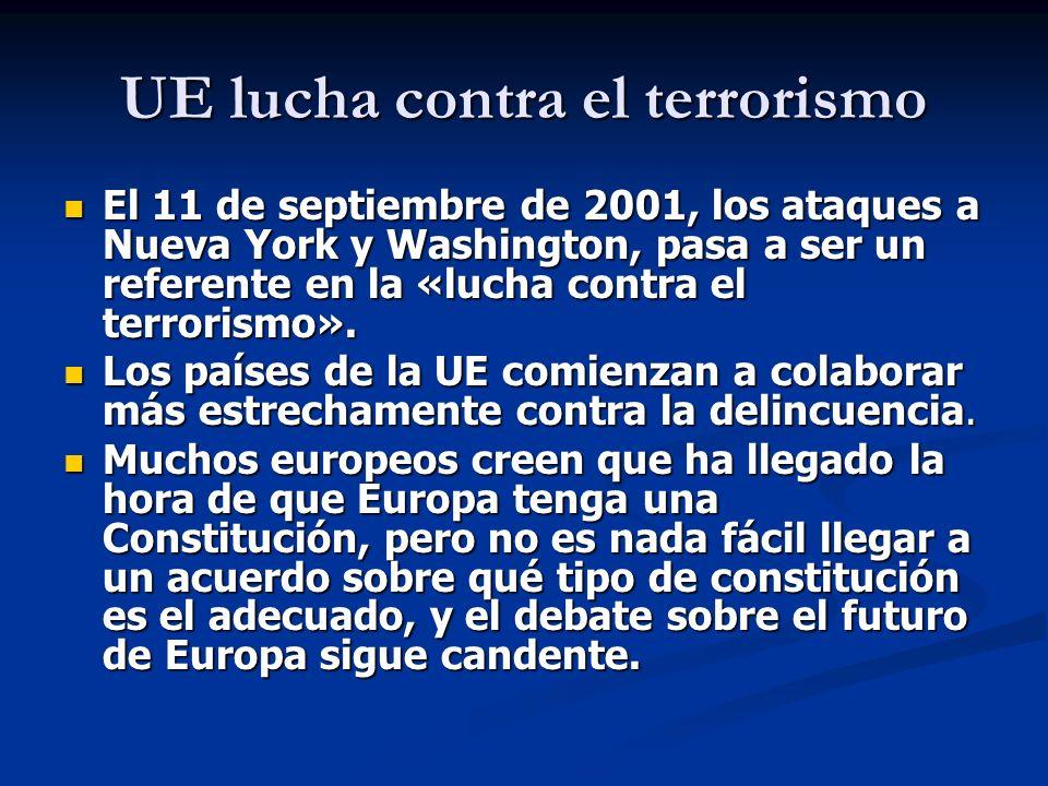 UE lucha contra el terrorismo