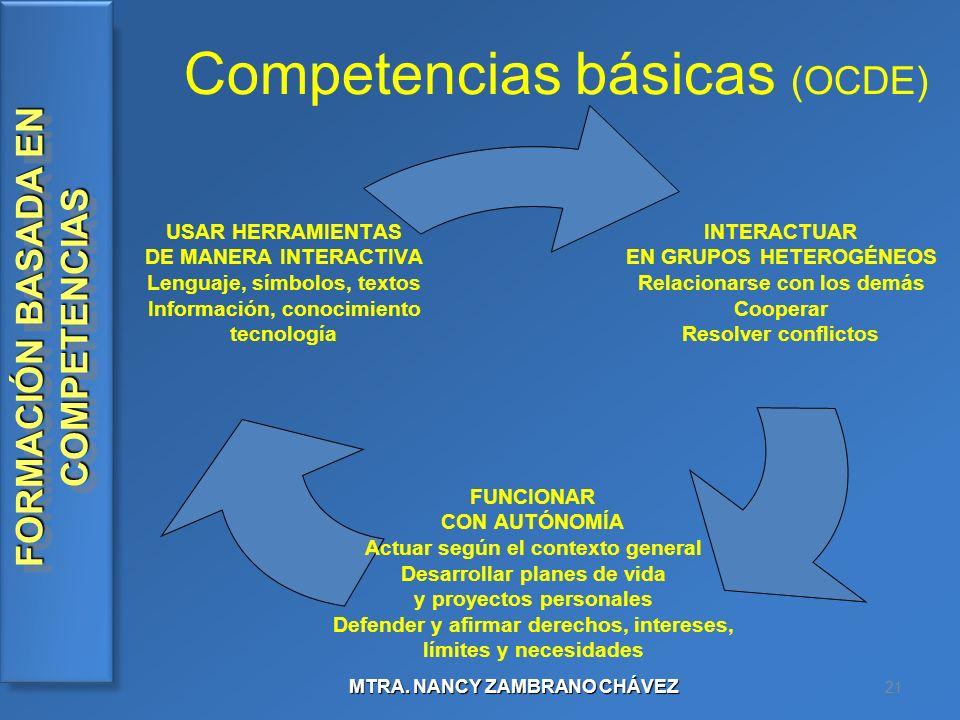 Competencias básicas (OCDE)