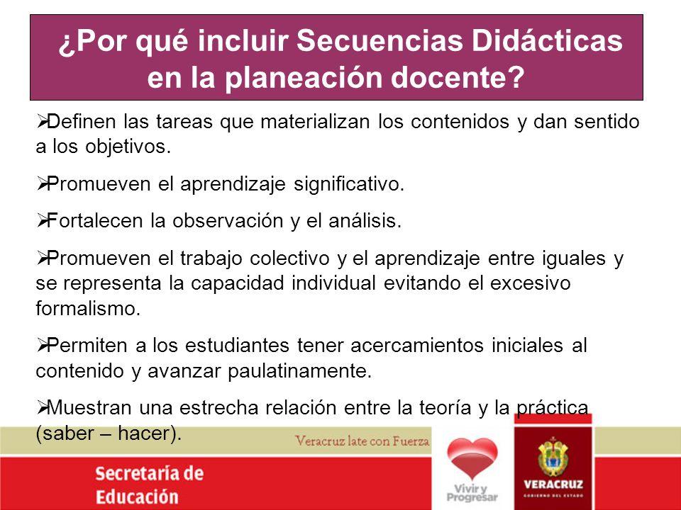 ¿Por qué incluir Secuencias Didácticas en la planeación docente
