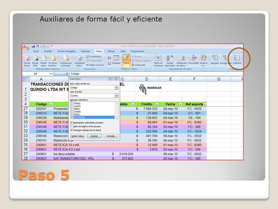 Auxiliares de forma fácil y eficiente