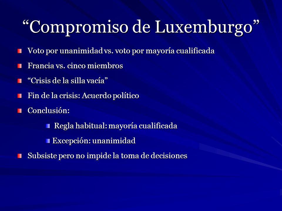 Compromiso de Luxemburgo