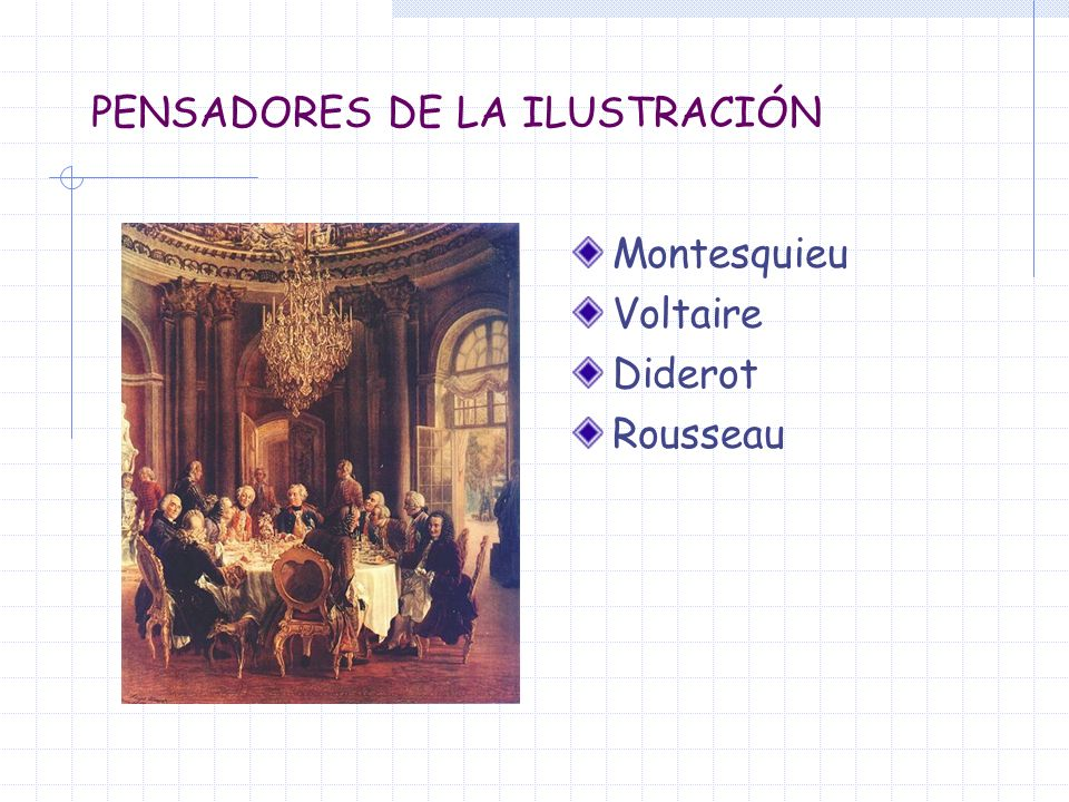 PENSADORES DE LA ILUSTRACIÓN