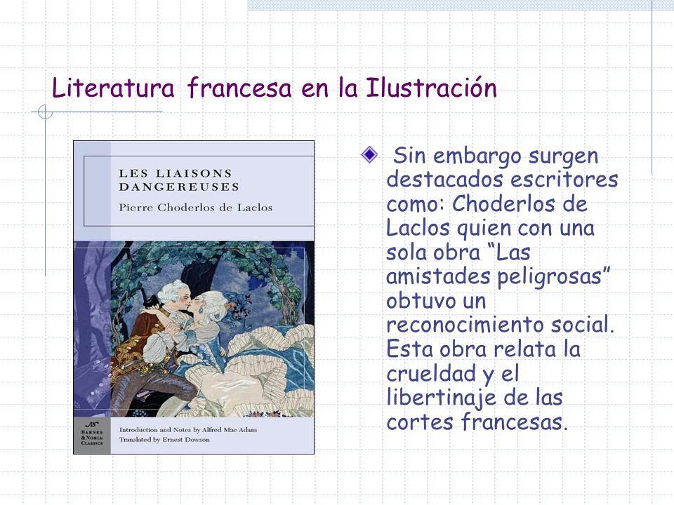 Literatura francesa en la Ilustración