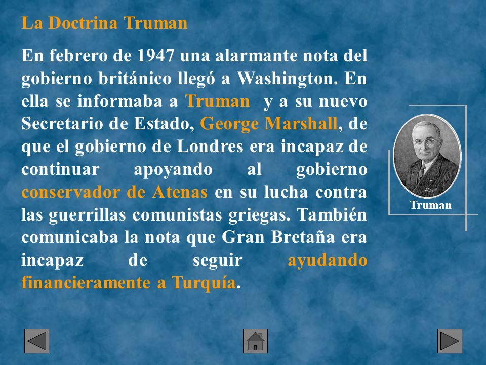 La Doctrina Truman