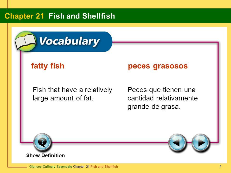 fatty fish peces grasosos