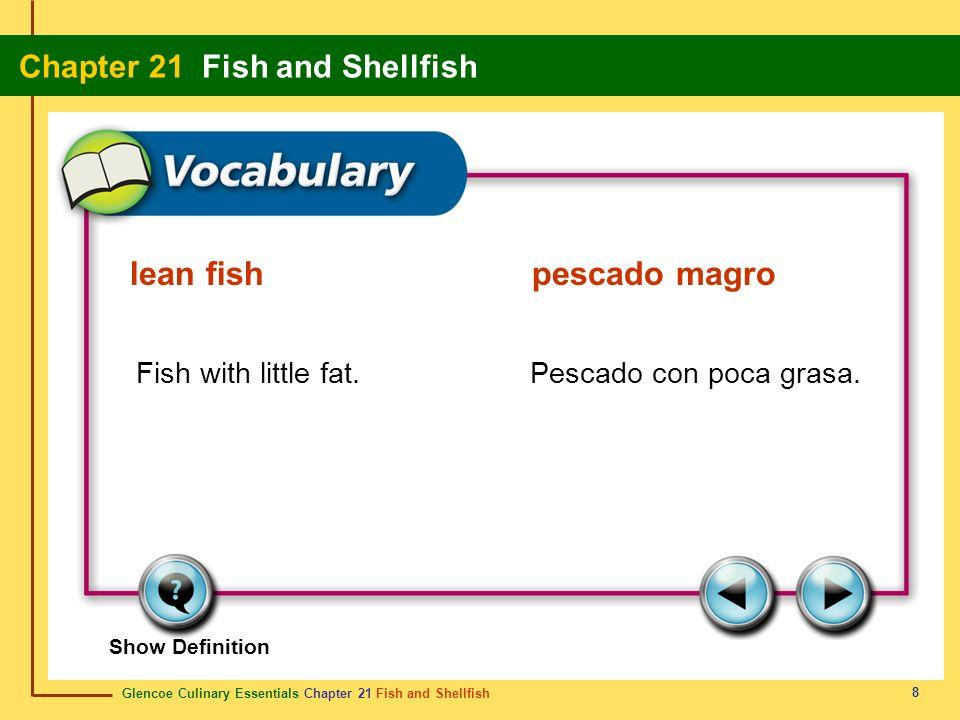 lean fish pescado magro